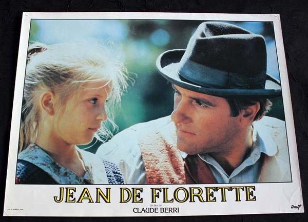 JEAN DE FLORETTE 7 photos Série B 30X40 CM Claude Berri 1985-86 French Lobby Cards.