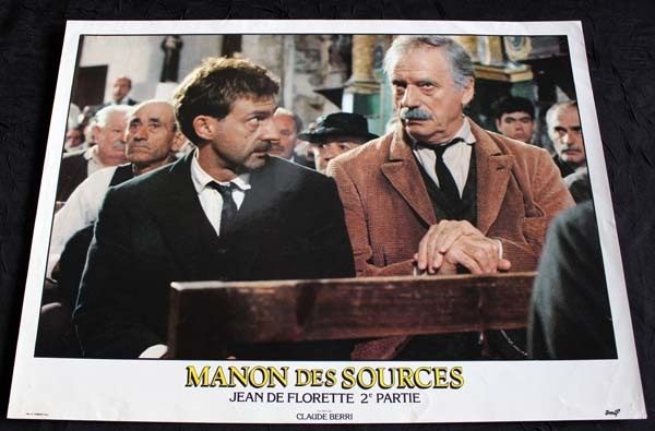 MANON DES SOURCES 8 Photos 30X40 CM Berri 1985-86 Montand Béart Girardot