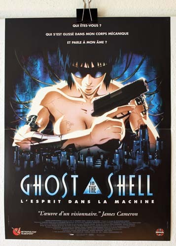 GHOST IN THE SHELL Affiche du film - 1995 - Mamoru Oshii Manga de Masamune Shirow Japon 40X60