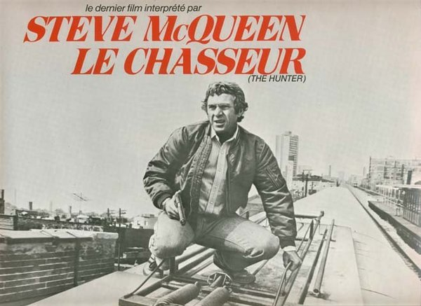 LE CHASSEUR / The Hunter Synopsis du film 24x31 cm - 1980 - Steve McQueen Eli Wallach Buzz Kulik