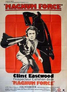 MAGNUM FORCE Affiche Originale 120x160 - 1973 - Ted Post Clint Eastwood Holbrook Ryan