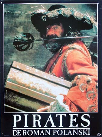PIRATES  Photos originales du film x10 - 30x40 cm (Série A) - Roman Polanski, Walter Matthau 1986