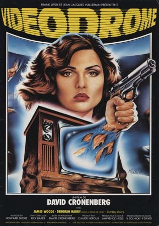 VIDEODROME Synopsis du film 21x29,5 cm - 1982 - David Cronenberg Deborah Harry James Woods