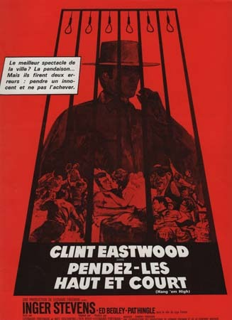 PENDEZ-LES HAUT ET COURT Synopsis du film 24x31 cm - 1968 - Clint Eastwood Dennis Hopper Ted Post