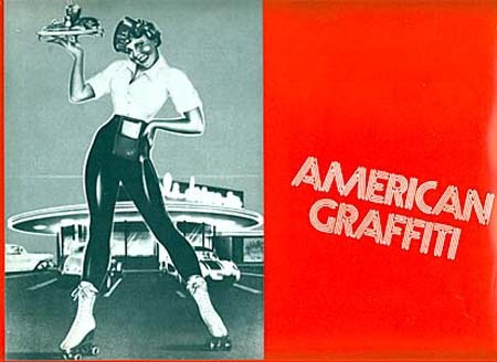 AMERICAN GRAFFITI Synopsis du film 24x32 cm - 1973 - George Lucas Richard Dreyfuss