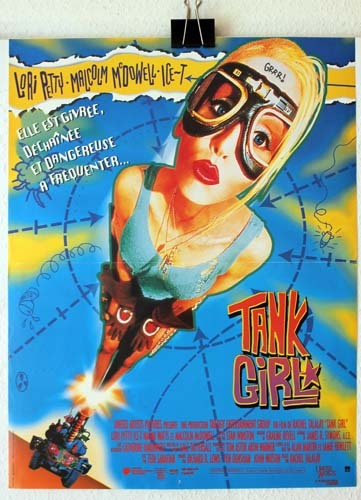 TANK GIRL Affiche du film 40x60 cm - USA 1995 - Rachel Talalay Lori Petty
